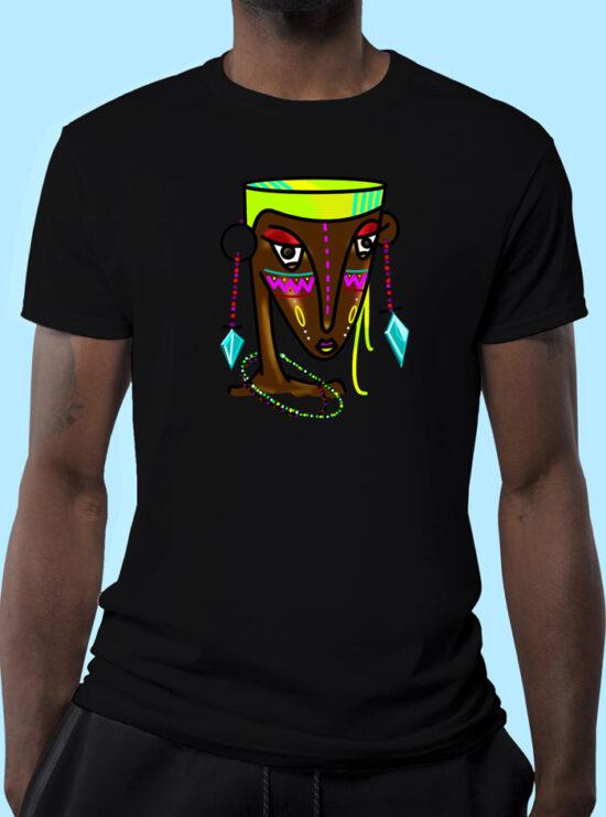 Maasai-Girl-Men-Black