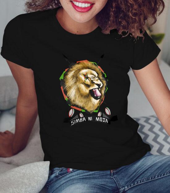 Simba-ni-moja-Ladies-Black